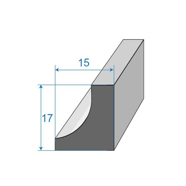 Joint de porte 15x17mm - Joint de porte voiture universel ...