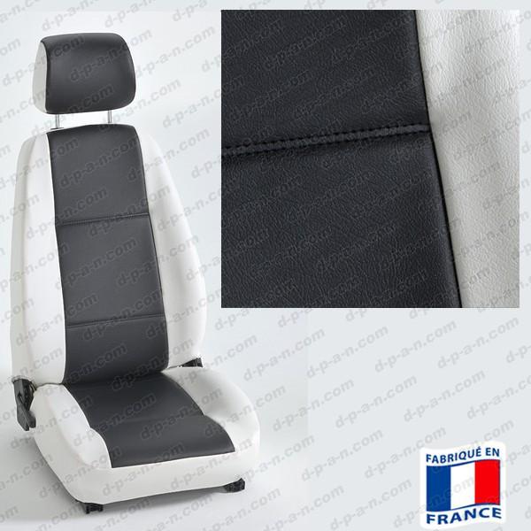 housses si ges auto sur mesure pour voiture en simili cuir. Black Bedroom Furniture Sets. Home Design Ideas