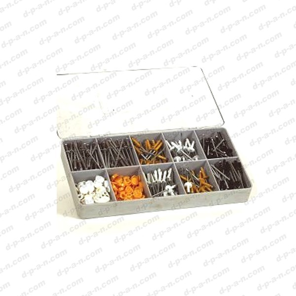 coffret de rivets plaque immatriculation. Black Bedroom Furniture Sets. Home Design Ideas
