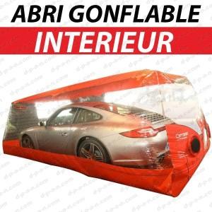 Abri de protection gonflable carcoon evo pour prot ger vos voitures en int rieur - Protection garage voiture ...