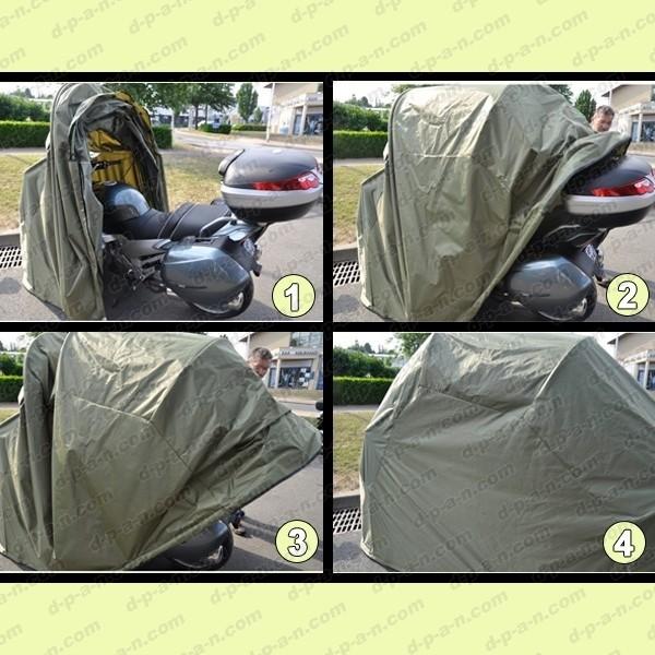 abri souple pour motos et scooters. Black Bedroom Furniture Sets. Home Design Ideas