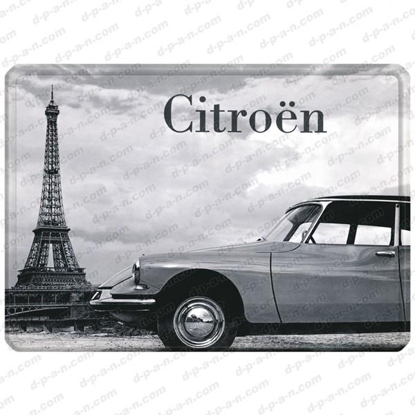 Plaque m tal 30x40 plate citroen ds for Citroen garage 93