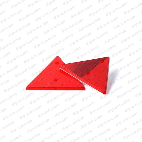 triangle catadioptre de signalisation de remorque 1 paire. Black Bedroom Furniture Sets. Home Design Ideas