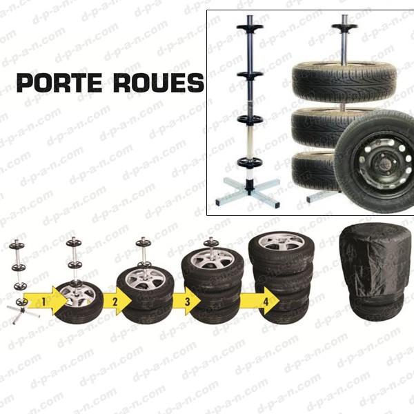 Support De Rangement Pour 4 Roues Porte Roues Comptoirauto Com