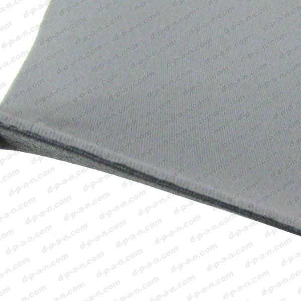 rev tement velours gris perle sur mousse pour fabrication de ciels de toit coller. Black Bedroom Furniture Sets. Home Design Ideas