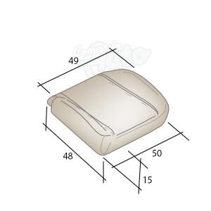 mousses pour assises de si ges de v hicules peugeot boxer. Black Bedroom Furniture Sets. Home Design Ideas