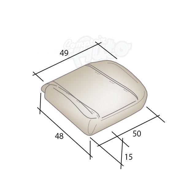 mousses pour assises avants de si ges de v hicules peugeot boxer. Black Bedroom Furniture Sets. Home Design Ideas