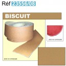 Bordure de moquette en simili grain fin Biscuit