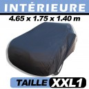 Housse voiture garage, protection intérieure finition velours CoverIn' - XXL1