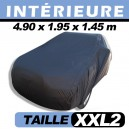 Housse voiture garage, protection intérieure finition velours CoverIn' - XXL2