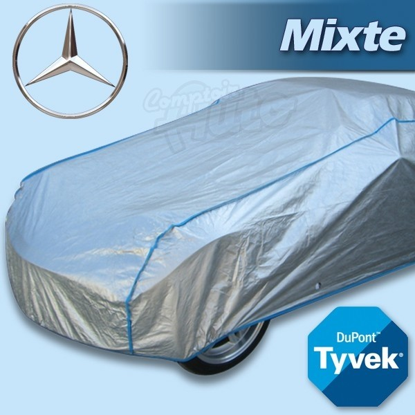 housse b che de protection tyvek mixte pour autos mercedes w113 r107 r129 classe a b c. Black Bedroom Furniture Sets. Home Design Ideas
