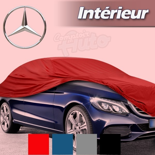 Housse b che de protection int rieur pour auto mercedes for Mercedes classe m interieur