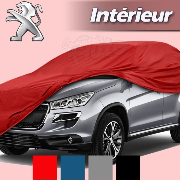 Housse b che de protection int rieur pour auto peugeot for Interieur 405