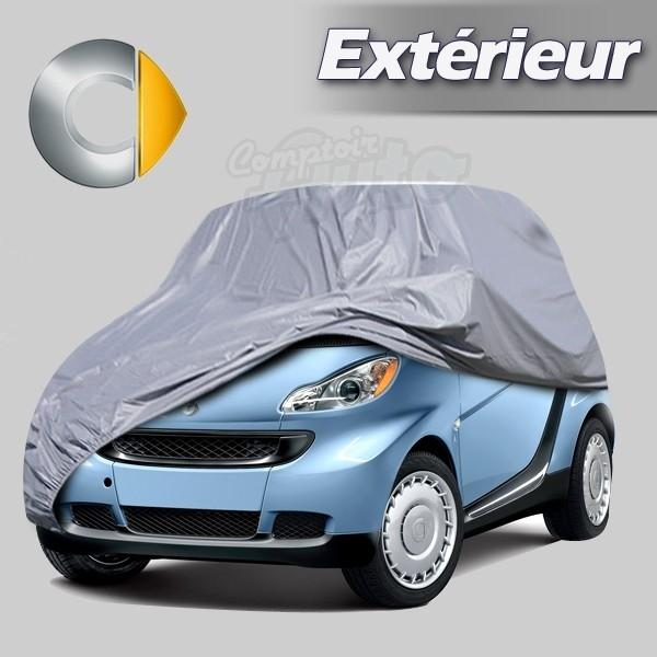housse b che de protection ext rieur pour auto smart forfour fortwo roadster. Black Bedroom Furniture Sets. Home Design Ideas