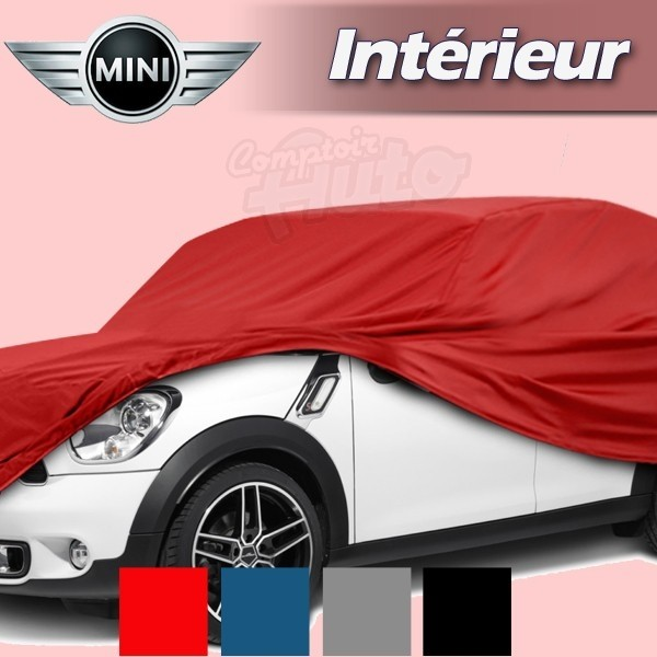 housse b che de protection int rieur pour auto mini mini british open mini cooper mini. Black Bedroom Furniture Sets. Home Design Ideas