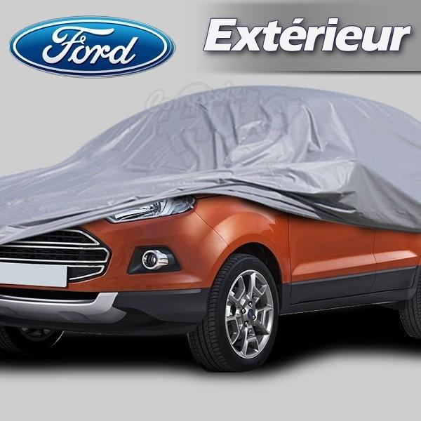 Housse b che de protection ext rieur pour auto ford c max for Bache voiture exterieur
