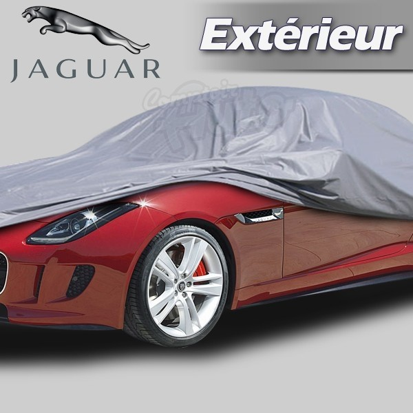 housse b che de protection ext rieur pour auto jaguar d. Black Bedroom Furniture Sets. Home Design Ideas