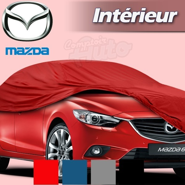 housse b che de protection int rieur pour auto mazda 2 5. Black Bedroom Furniture Sets. Home Design Ideas