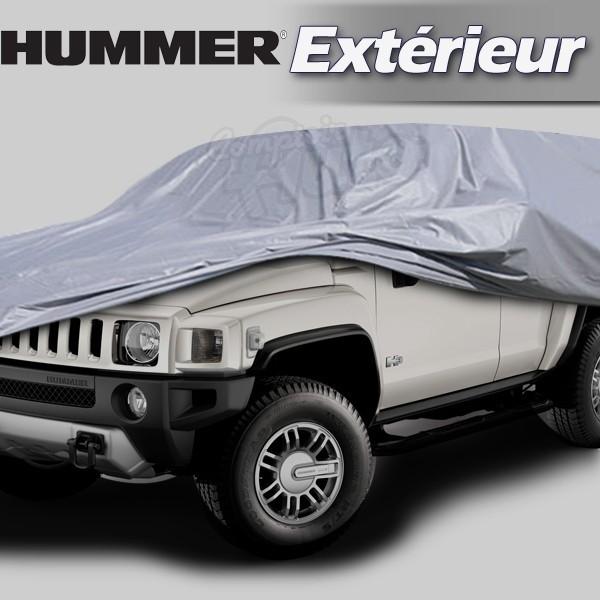 housse b che de protection ext rieur pour auto hummer h1 h2 et h3. Black Bedroom Furniture Sets. Home Design Ideas