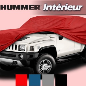 Housse b che de protection int rieur pour auto hummer h1 for Interieur hummer