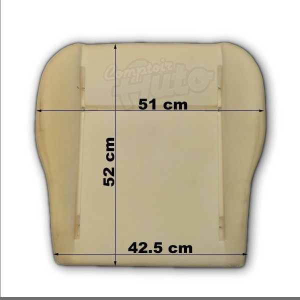 mousse pour assise de si ge combi volkswagen transporter t5. Black Bedroom Furniture Sets. Home Design Ideas