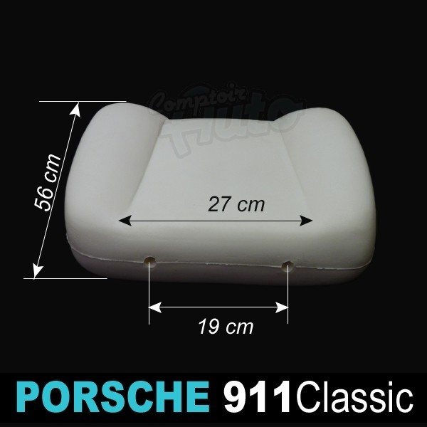 mousse pour dossier avant droit ou gauche si ge de porsche 911 classic. Black Bedroom Furniture Sets. Home Design Ideas