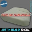 Mousse assise avant gauche Austin Healey 3000 BJ7