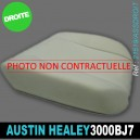 Mousse assise avant droite Austin Healey 3000 BJ7
