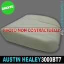 Mousse assise avant droite Austin Healey 3000 BT7