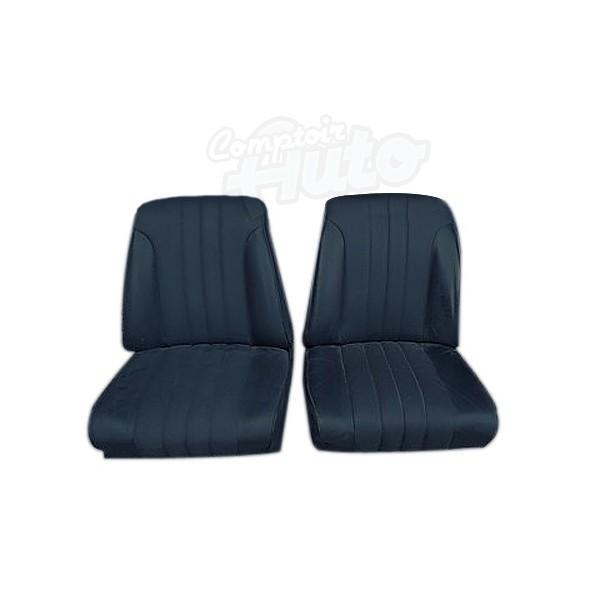 garnitures de si ges avants pour peugeot 204 cabriolet. Black Bedroom Furniture Sets. Home Design Ideas