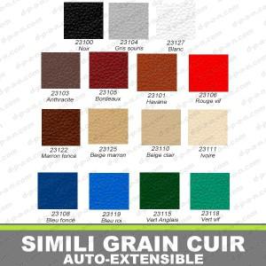1a75294bd43 Simili grain cuir auto-extensible - comptoirauto.com